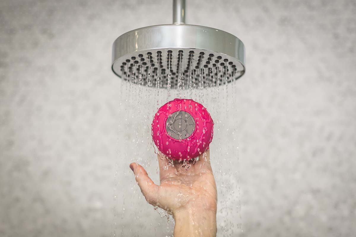 Enceinte Publicitaire waterproof