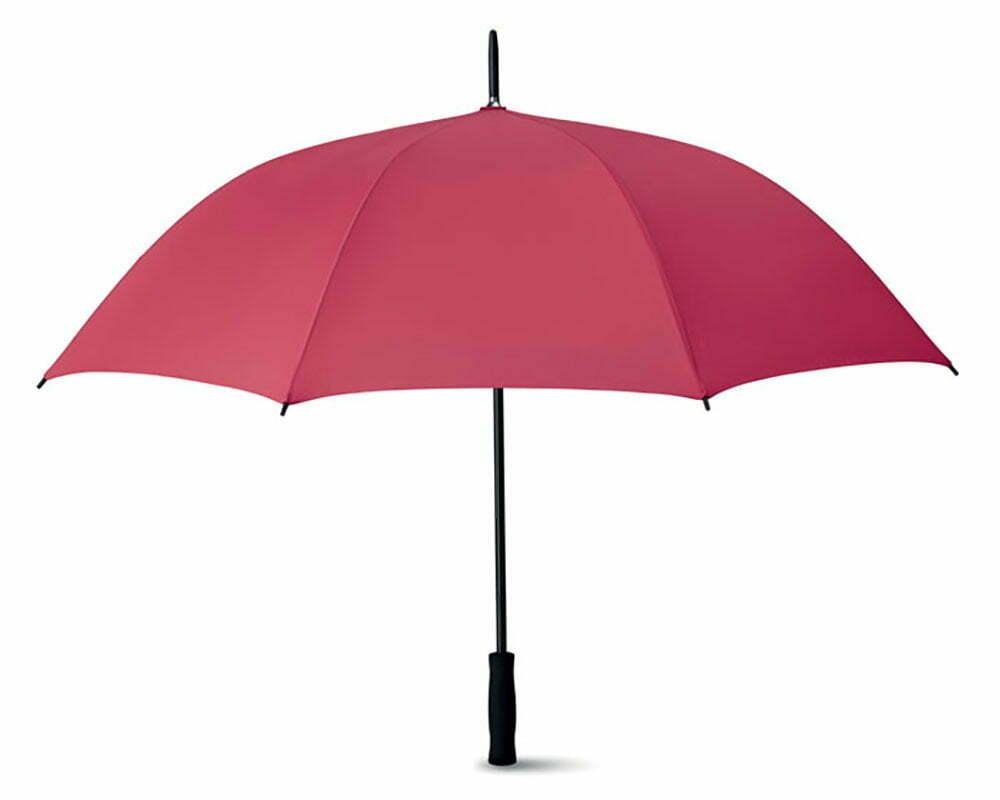 Parapluie GOLF pongee avec poignée en EVA. Attributs noirs. Ouverture automatique.