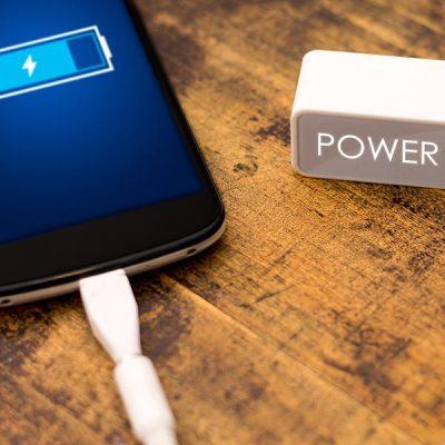 Power bank batterie chargeur Publicitaire