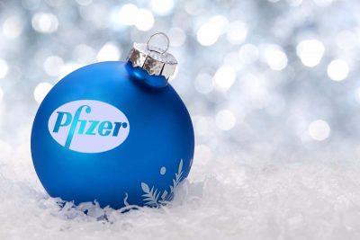Boule de Noël Publicitaire