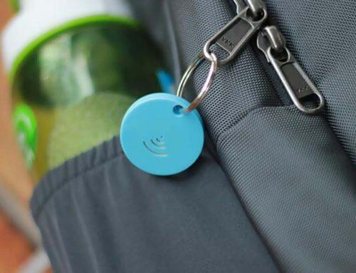 Porte-clés connecté RFID