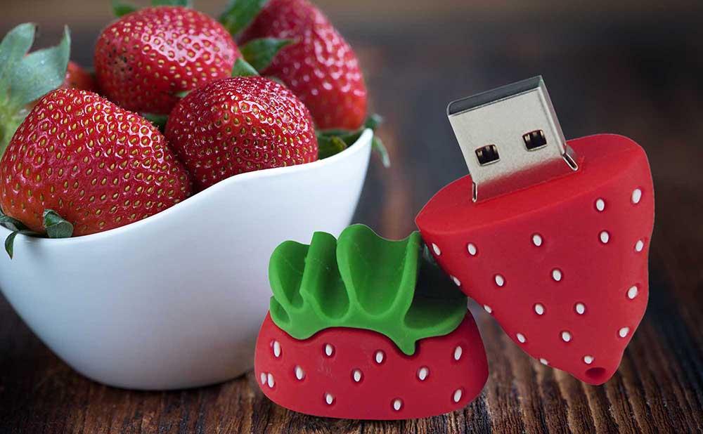 Cle USB fraise fruit & legumes