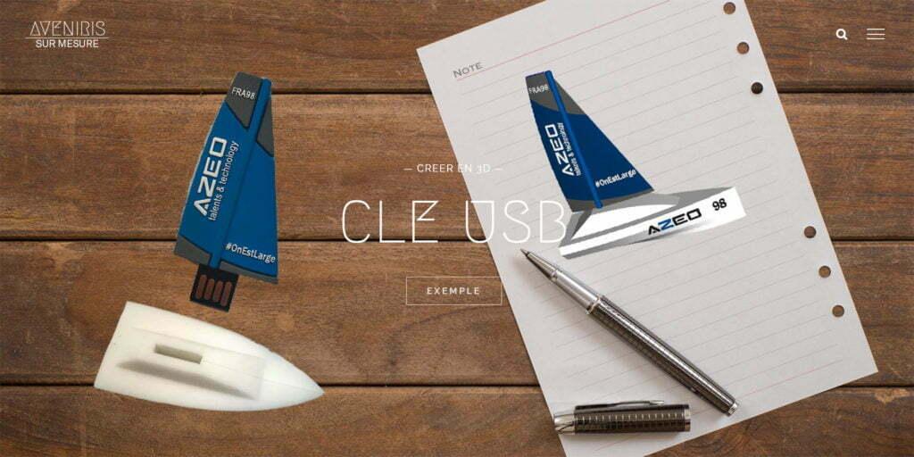 Clé USB Pwer Bank Enceinte Bluetooth Publicitaire