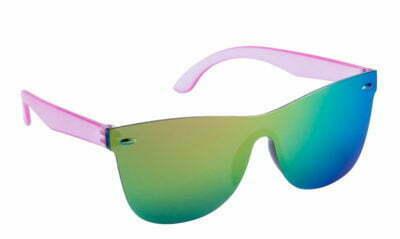 lunettes de soleil publicitaire sans monture fashion