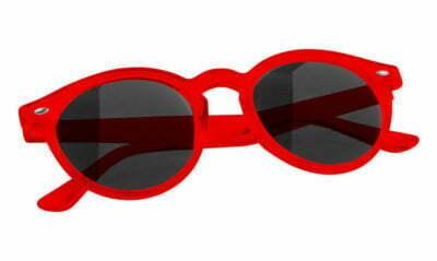 lunettes de soleil publicitaires monture rondes