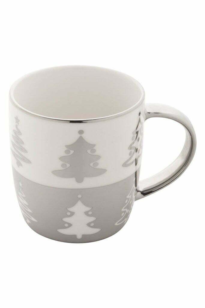 Mug de Noël Argent