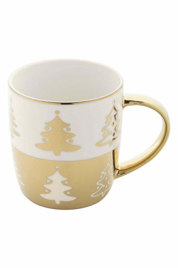 Mug de Noël Or