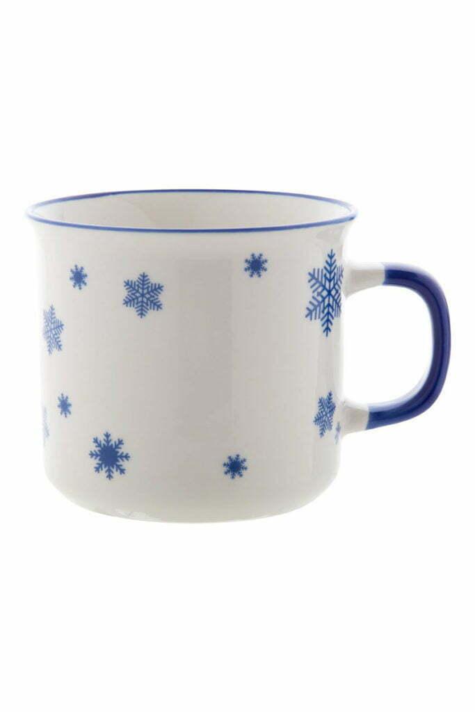 Chope de Noël Vintage Bleue